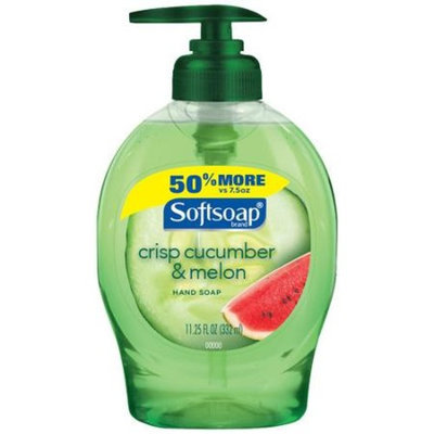 Softsoap Crisp Cucumber & Melon Liquid Hand Soap, 11.25 fl oz