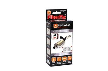 Fiber Fix 2in Black Heat Wrap (857101004235)