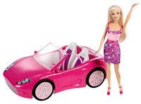 Barbie Glam Convertible! + Doll - MATTEL, INC.