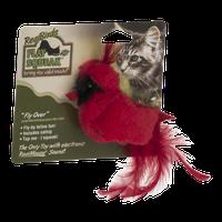 Play-N-Squeak Real Birds Cat Toy