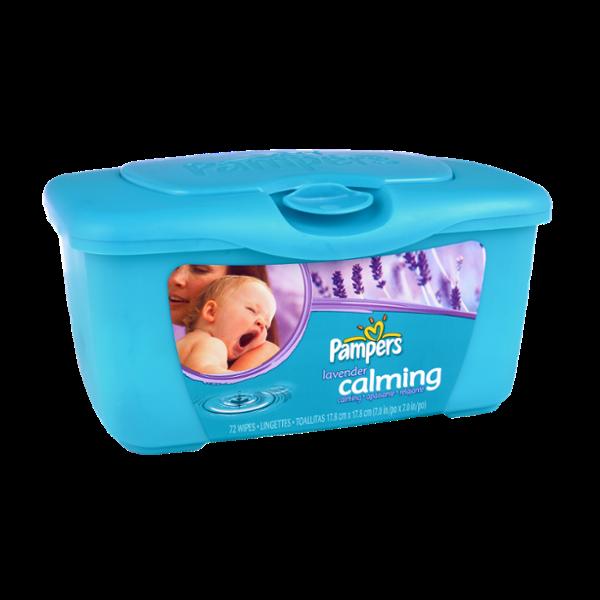 Pampers® Calming Lavander Baby Wipes