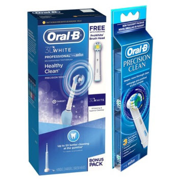 Oral-B Professional Care 1000 Rechargeable Toothbrush & 3 Precision