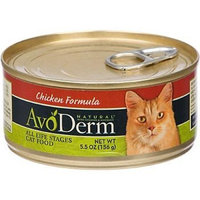 AvoDerm Natural Cat Food, 5.5-Ounce Cans, Case of 24