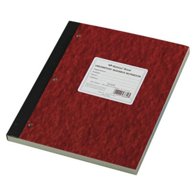 National Brand 9-1/4 x 11 Duplicate Lab Notebook, Quadrille Rule-