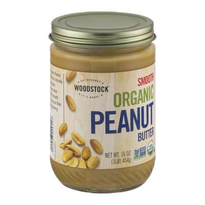 Woodstock Smooth Organic Peanut Butter