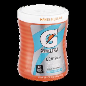 Gatorade G Series 02 Perform Frost Glacier Freeze Thirst Quencher Powder Mix