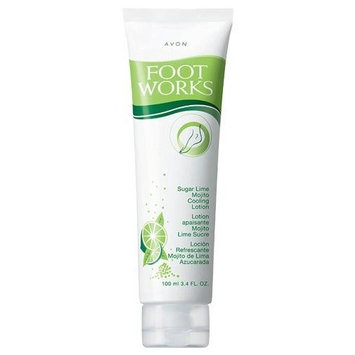 Avon Foot Works Sugar Lime Mojito Cooling Lotion