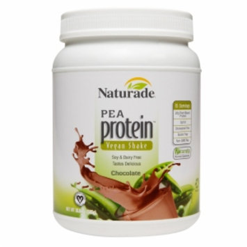 Vegan Pea Protein Jug Chocolate 20.64 OZ from Naturade