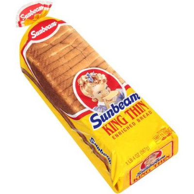 Sunbeam King Thin Bread, 20 oz