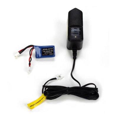 LiPo Chrgr & Batt250mAhCombo, Micro