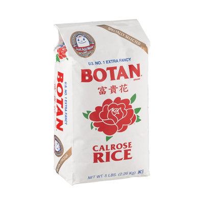 Botan Calrose Rice Extra Fancy