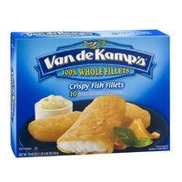 Van de Kamp's Fish Fillets Crispy - 10 CT