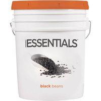 Emergency Essentials SuperPail Black Beans, 41 lbs