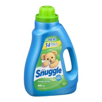Ultra Snuggle Fabric Softener with Fresh Release Gentle Spring - 60 Loads