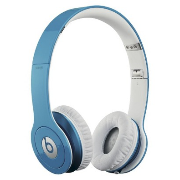 BEATS by Dr. Dre Beats by Dre Solo HD On-Ear Headphones - Light Blue (900-00065-01)