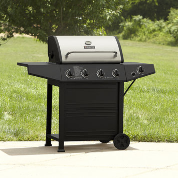 Perfectglo, Inc BBQ Pro 4 Burner Gas Grill with Stainless Steel Lid - PERFECTGLO, INC