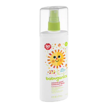Babyganics Tear Free Mineral-Based Sunscreen Spray 50+ SPF