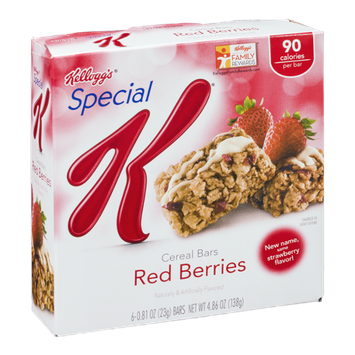 Kellogg's Special K Cereal Bars Red Berries - 6 CT