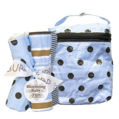 Trend Lab 5 Pc. Burp Cloths and Bottle Bag Set - Max by Lab