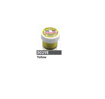 1/2 Ounce Yellow Acrylic Powder by Sassi for Beautiful Nails