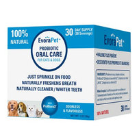 EvoraPet Probiotic Oral Care for Cats & Dogs