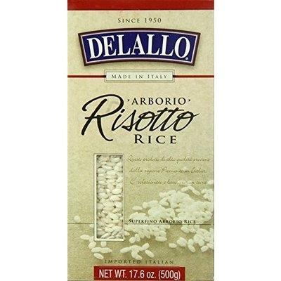 DeLallo Risotto Aborio Rice, 17.6-Ounce Units (Pack of 12)