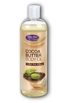 Cocoa Butter Body Oil Life Flo Health Products 16 oz Cream