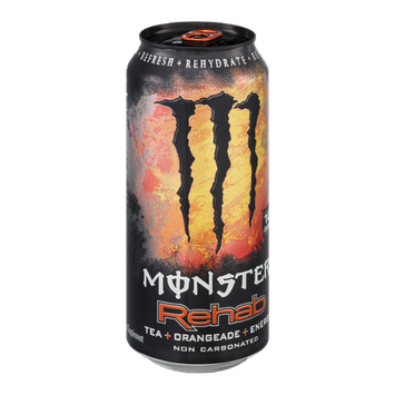 Monster Rehab Tea+Orangeade+Energy Supplement
