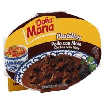 Dona Maria Platillos, Pollo con Mole, Chicken With Mole, Medium Hot, 10-Ounce (Pack of 6)
