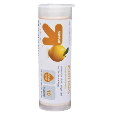 up & up up&up Orange Glucose Tablets - 10 Count