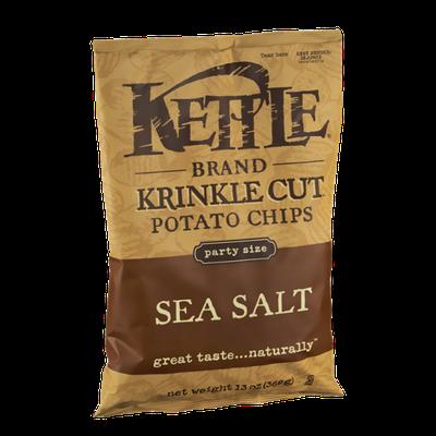 Kettle Krinkle Cut Sea Salt Potato Chips