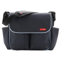 Skip Hop Dash Messenger Diaper Bag Charcoal by