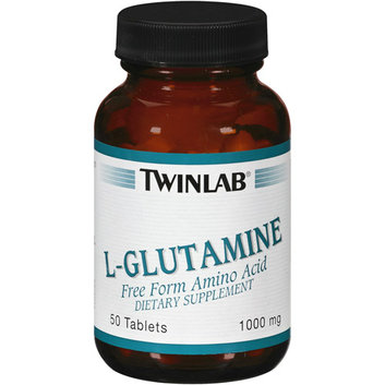 Twinlab L-Glutamine Free Form Amino Acid Tablets