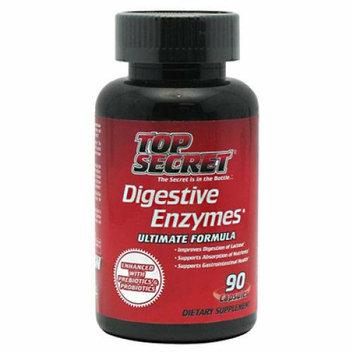 Top Secret Nutrition Digestive Enzymes 90 capsules