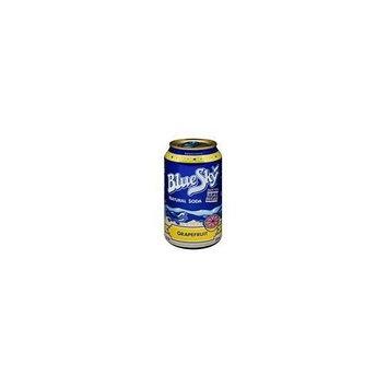 Blue Sky Soda, Natural Grapefruit 6 pk, 72-ounces (Pack of4)