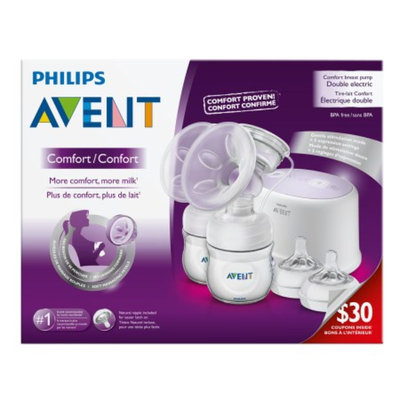 Philips Avent Comfort Double Electric Breast Pump Set SCF334/12