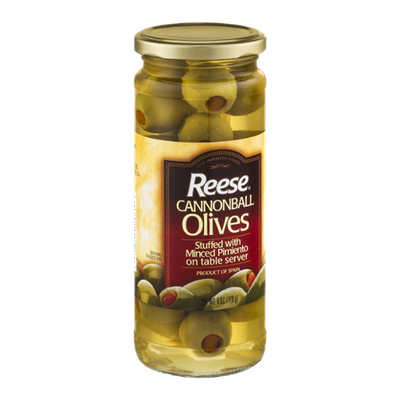 Reese Cannonball Olives Stuffed with Minced Pimiento