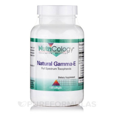 Natural Gamma-E 120 Softgels by Nutricology/ Allergy Research Group