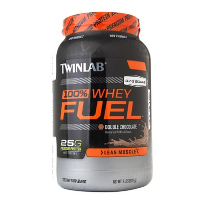Twinlab Fuel 100% Whey Protein Fuel Double Chocolate
