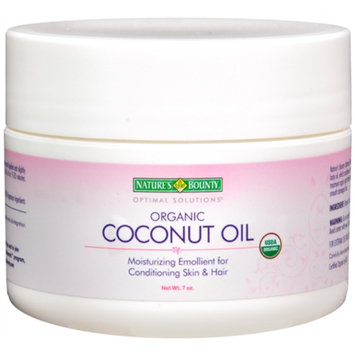 Nature's Bounty Optimal Solutions Organic Coconut Oil - 7 oz