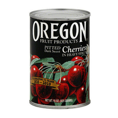 Oregon Fruit Products Pitted Dark Sweet Cherries In Heavy Syrup