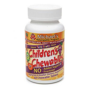 Michael's Naturopathic Programs Children's Chewables Kid's Natural Multi-Vitamin
