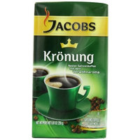 Jacob's Coffee Jacobs Kronung Coffee, 8.81-Ounce Vacuum Packs (Pack of 4)