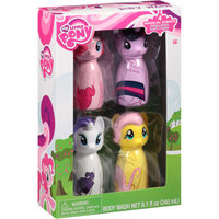 My Little Pony Magical Scents Body Washes Bath Gift Set, 4 pc