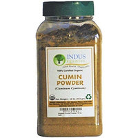 Indus Organics Indus Organic Cumin Seeds Powder 1 Lb Jar, high Purity, Freshly Packed