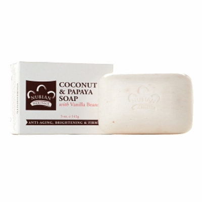 Nubian Heritage Coconut & Papaya Soap