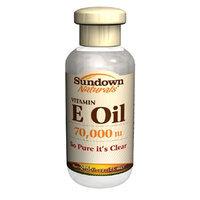 Sundown Naturals Pure Vitamin E Oil