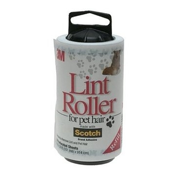 3M LINT ROLLER PET HAIR REFILL Size: 56 LAYER