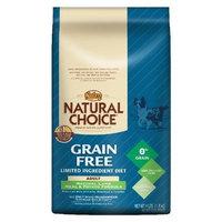 Natural Choice Dog Grain Free Lamb Meal and Potato Formula Adult Dog Food, 4-Pound