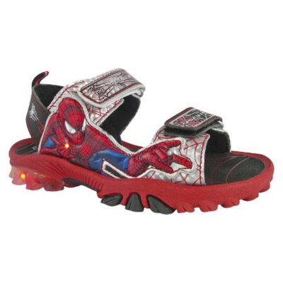 Toddler Boy's Spiderman Hiking Sandals - Red 9